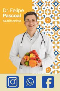 Cartão de Visita Digital Interativo 360tools CVODITKAT2 Dr Felipe Paschoal Nutricionista