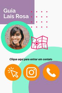 Cartão de Visita Digital Interativo 360tools CVODITKAT2 Guia Local Lais Rosa