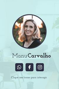 Cartão de Visita Digital Interativo 360tools CVODITKAT2 Malu Carvalho Coach Coaching Mentoria