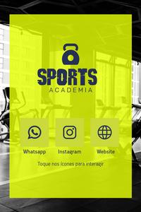 Cartão de Visita Digital Interativo 360tools CVODITKAT2 Sports Academia Gym
