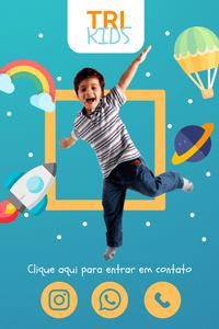 Cartão de Visita Digital Interativo 360tools CVODITKAT2 Tri Kids Crianças Moda Terapia infantil