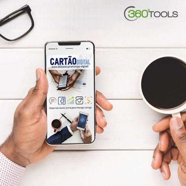 Cartão de Visita Digital e Interativo 360tools Produto 360mix