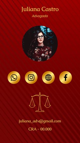 Cartão de Visitas Digital Interativo 360tools CVODITKAT Advocacia
