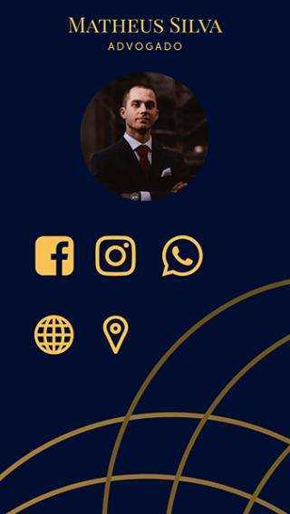 Cartão de Visitas Digital Interativo 360tools CVODITKAT Advogado