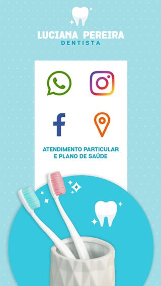 Cartão de Visitas Digital Interativo 360tools CVODITKAT Dentista