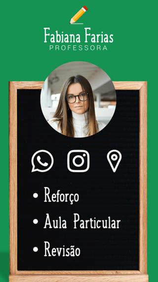 Cartão de Visitas Digital Interativo 360tools CVODITKAT Professor Particular