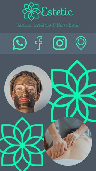 Cartão de Visitas Digital Interativo 360tools CVODITKAT Saúde Estética e Bem estar